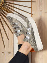 Sneakers scratch-VANESSA WU