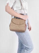 Shoulder Bag Dahlia Woomen White dahlia WDAH03-vue-porte