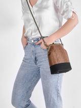 Shoulder Bag Dahlia Woomen Black dahlia WDAH08-vue-porte