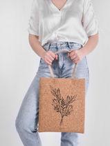 Shoulder Bag Lilas Woomen lilas WLILA02-vue-porte