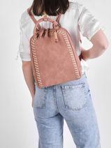 Nenuphar Backpack Woomen Pink nenuphar WNEN02-vue-porte