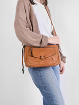 Shoulder Bag Dea Miniprix Brown dea MD8234-vue-porte