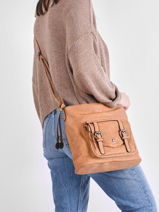 Shoulder Bag Irem Miniprix Brown irem 6413-vue-porte