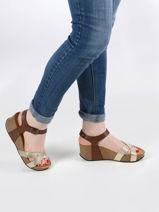 Sandales so final en cuir-PLAKTON-vue-porte