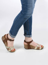 Sandals so final in leather-PLAKTON-vue-porte