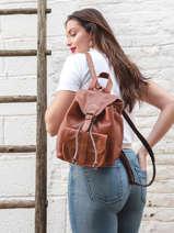 Backpack Le Baroudeur Paul marius Beige vintage BAROUDEU