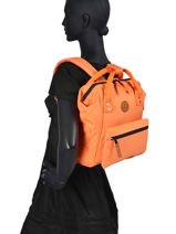 Backpack S 1 Compartment Cabaia tour du monde S-vue-porte