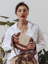 Shoulder Bag Deauville Etrier White deauville EDEA02