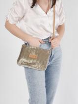 Crossbody Bag Ble Mila louise Gold ble 23665BL3-vue-porte