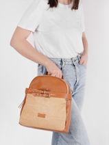 Calanque Backpack Torrow Brown calanque TCAL05-vue-porte