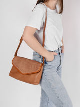 Crossbody Bag Authentic Tresse Torrow Brown authentic tresse TATT01-vue-porte