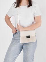 Shoulder Bag Dubai Torrow White dubai TDUB01-vue-porte