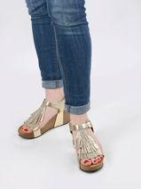 Sandals so tonka in leather-PLAKTON-vue-porte