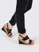 Sandales talon compensé meline-LES P