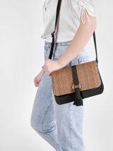 Shoulder Bag Dahlia Woomen Black dahlia WDAH04-vue-porte