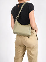 Leather Zurie Crossbody Bag Nathan baume Green cruise 28-vue-porte