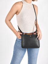 Crossbody Bag Merrimack Lauren ralph lauren Black merrimack 31747444-vue-porte