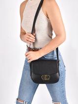 Shoulder Bag Addie 24 Leather Lauren ralph lauren Black addie 24 31818731-vue-porte