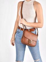 Crossbody Bag Addie 24 Leather Lauren ralph lauren Brown addie 24 31818731-vue-porte