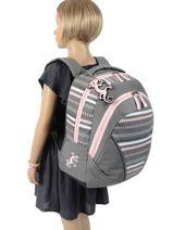 Backpack 2 Compartments Cameleon Gray actual PBBASD43-vue-porte