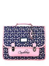 Backpack 2 Compartments Cameleon Blue retro PBRECA38