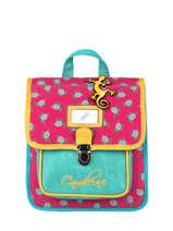 Backpack Cameleon Green retro PBRESD30