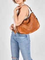 Shoulder Bag Aude Miniprix Brown aude MD8212-vue-porte