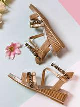 Sandales semelle compensée naga-MAM