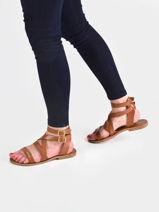 Sandales avec brides oceanie-LES TROPEZIENNES-vue-porte