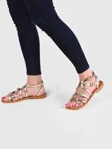 Sandals boucle-LES TROPEZIENNES-vue-porte