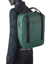 Backpack Ison 1 Compartment Ucon acrobatics Green backpack ISON-vue-porte