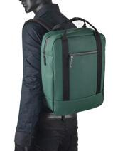Backpack Ison 1 Compartment Ucon acrobatics Green backpack ISON-vue-porte