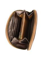 Vintage Wallet Leather Paul marius Gold vintage MANON-vue-porte