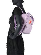 Backpack Kånken 1 Compartment Fjallraven kanken 23561-vue-porte
