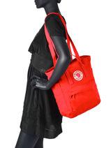 Backpack Kanken Totepack N°1 Fjallraven kanken 23710-vue-porte