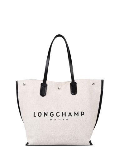Longchamp Essential toile Hobo bag Beige