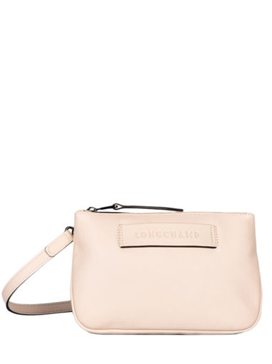 Longchamp Longchamp 3d zip Messenger bag Beige