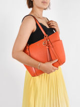 Hobo Bag Sullivan Leather Michael kors Orange sullivan T0GNXT2L-vue-porte