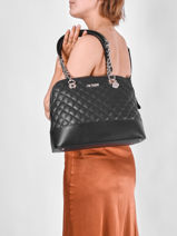 Hobo Bag Illy Guess Black illy VG797009-vue-porte