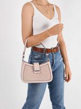 Sac Porté épaule Couture Miniprix Rose couture YY65002-vue-porte