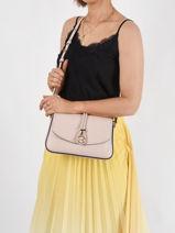 Shoulder Bag Leah Leather Michael kors Pink leah - S1GLAM6L-vue-porte