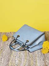 Sac Porté Main Couture Miniprix Bleu couture R1550