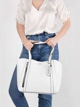 Sac Shopping Naya Guess Blanc naya VY788123-vue-porte