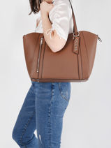 Naya Shoulder Bag Guess Brown naya VG788123-vue-porte