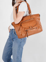 Hobo Bag Dea Miniprix Brown dea MD8231-vue-porte