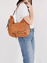 Shoulder Bag Dea Miniprix Brown dea MD8232-vue-porte