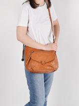 Shoulder Bag Dea Miniprix Brown dea MD8233-vue-porte
