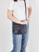Shoulder Bag Classic Miniprix Blue classic H9047-vue-porte