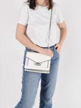 Sac Bandoulière Couture Miniprix Blanc couture R1518-vue-porte
