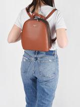 Classic Backpack Miniprix Brown classic 1-vue-porte